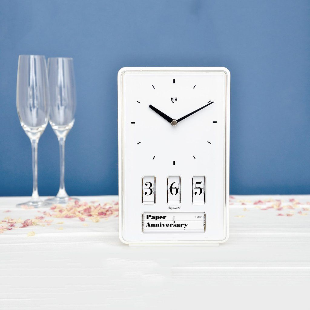 Wedding anniversary countdown clock Wedding countdown