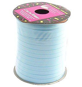 Pastel Blue 50 Feet Crimped Poly Curling Ribbon ** Want to know more, click on the image.