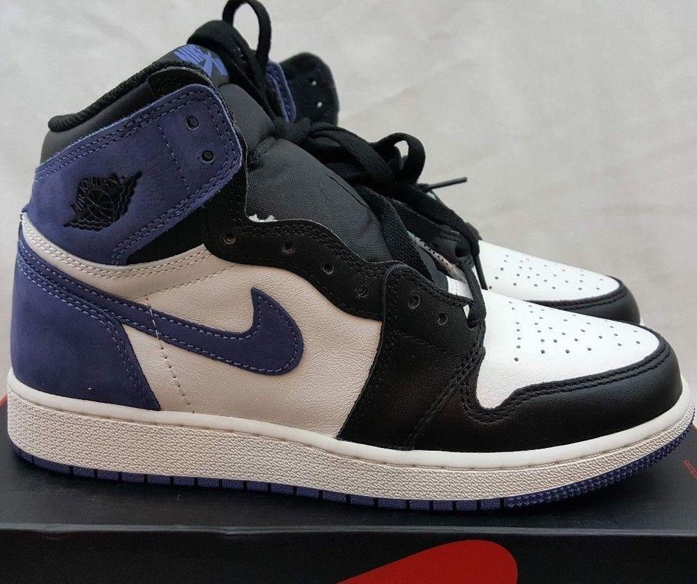 Nike Air Jordan Retro 1 High Og Blue Moon Summit White Black