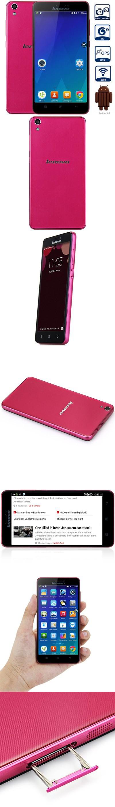 Lenovo S850 50 Inch Android 44 3g Phablet Mtk6582 Quad Core Quadcore Processor 20373