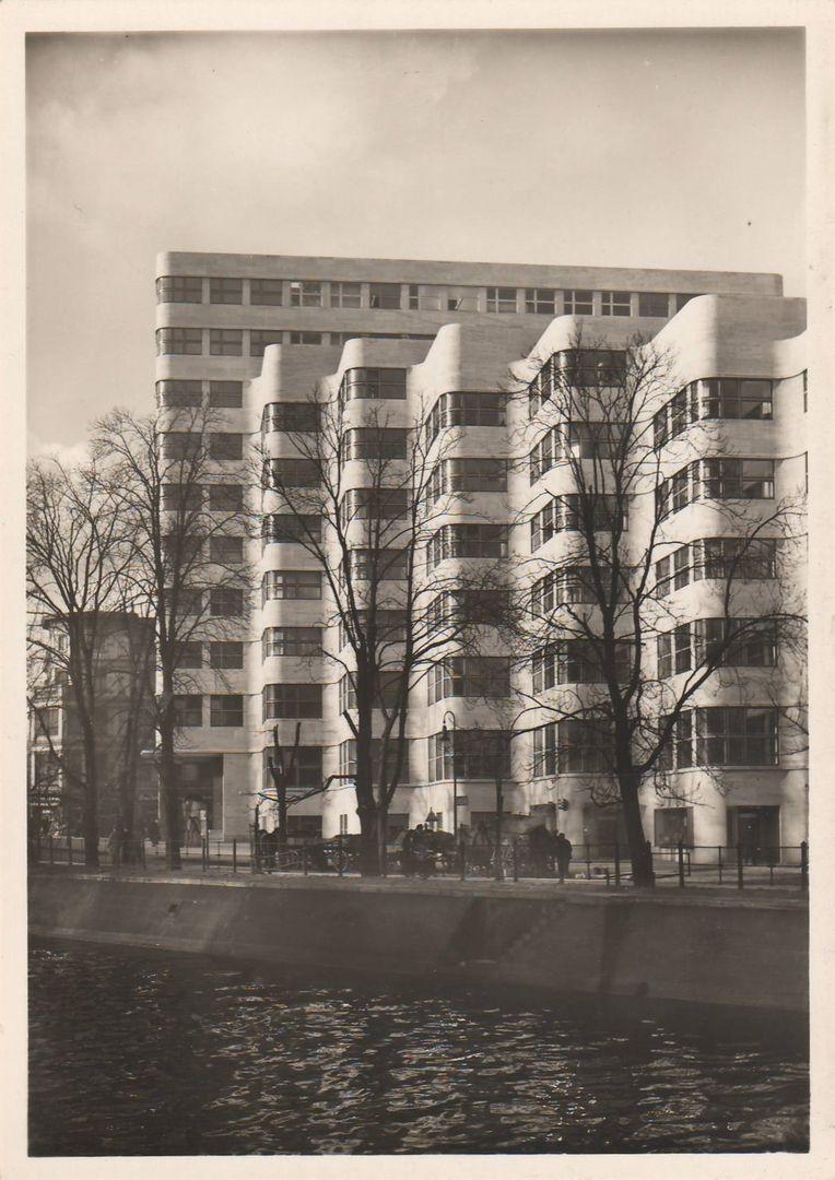 Emil fahrenkamp schellhaus berlin the shell house berlin 1930