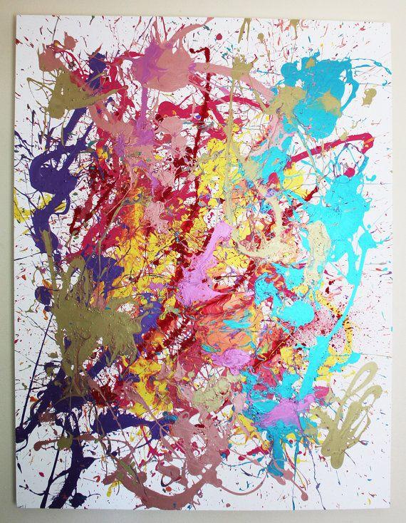 Abstract Acrylic Artwork On Canvas Miami Etsy Acrylic Artwork Abstract Acrylic Abstract Artwork
