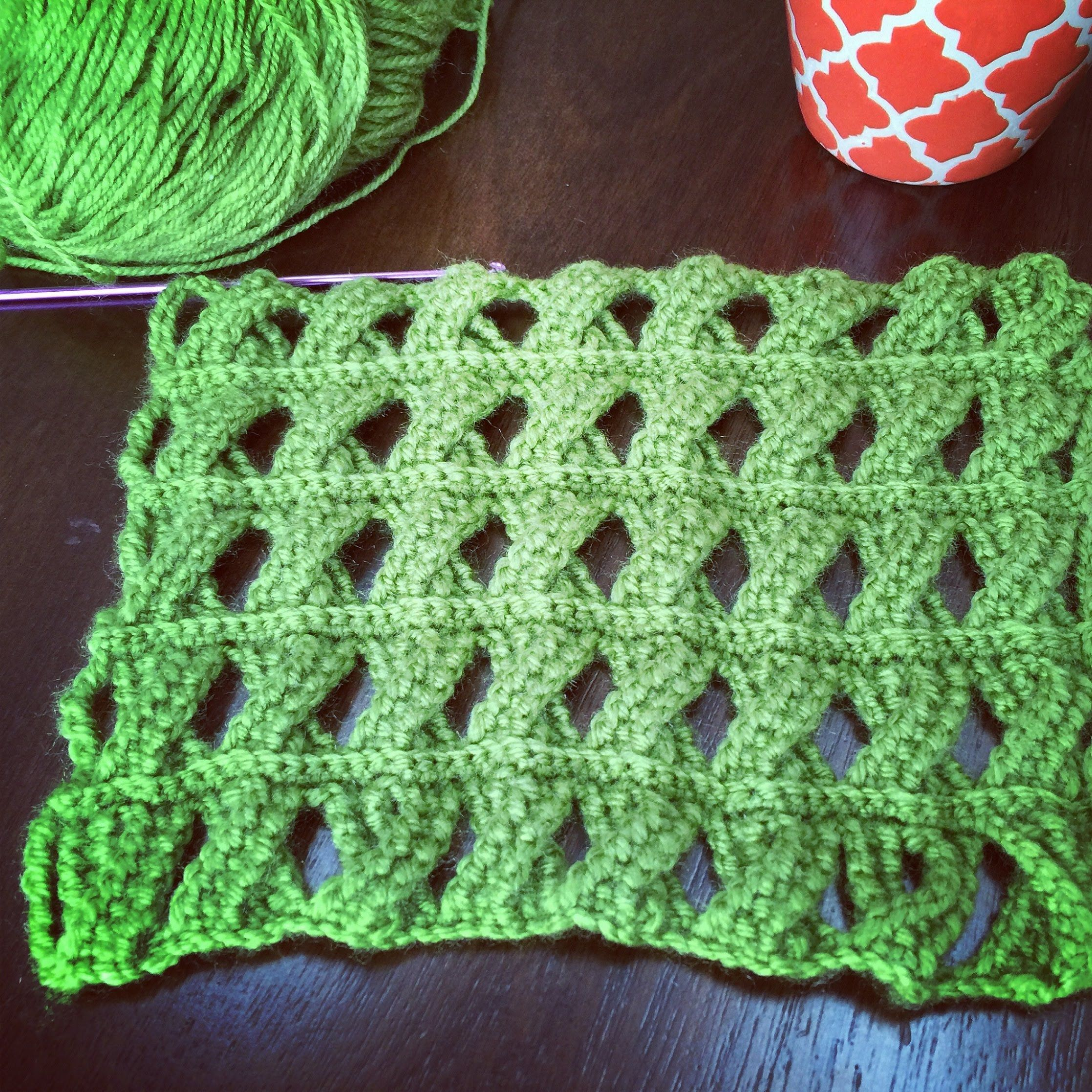 Crochet Pattern - Cable Crochet Stitch - Tunisian Crochet ...