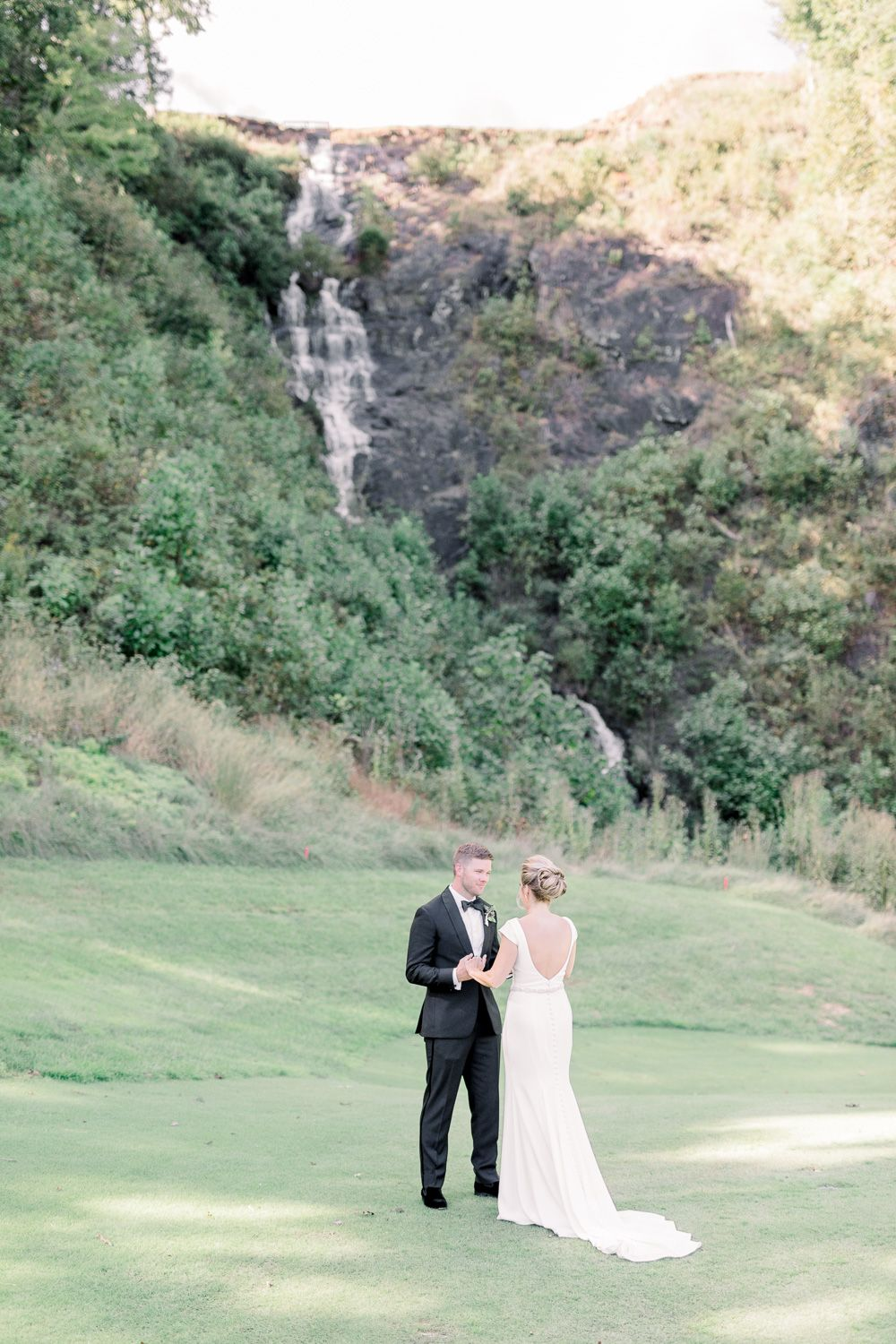 Waterfall Club Wedding in the North Mountains