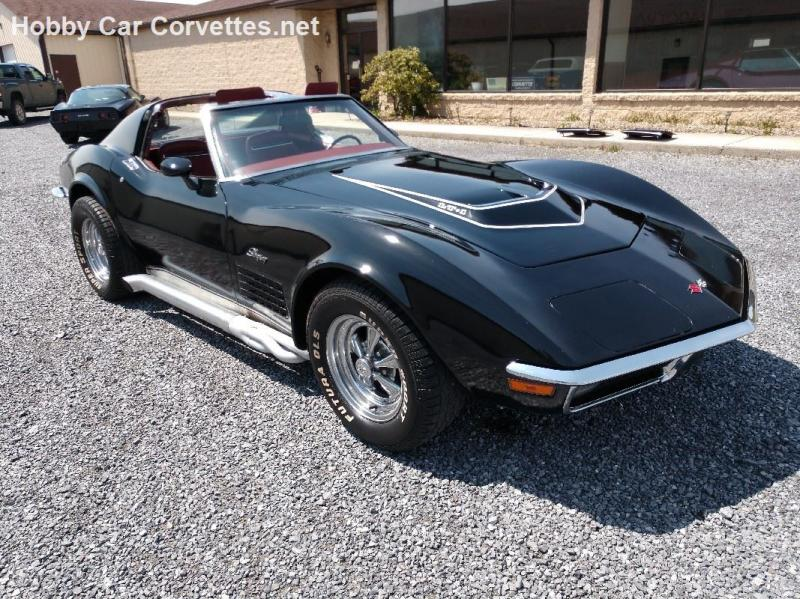 1970 Corvette T Top For Sale In Pennsylvania 1970 Black Lt1 Corvette Ttop Manual In 2020 Corvette Black Corvette Classic Corvette