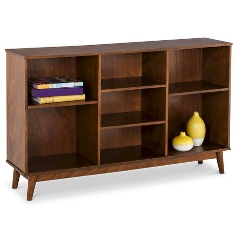 Amherst Mid Century Modern Horizontal Bookcase Project 62 Mid