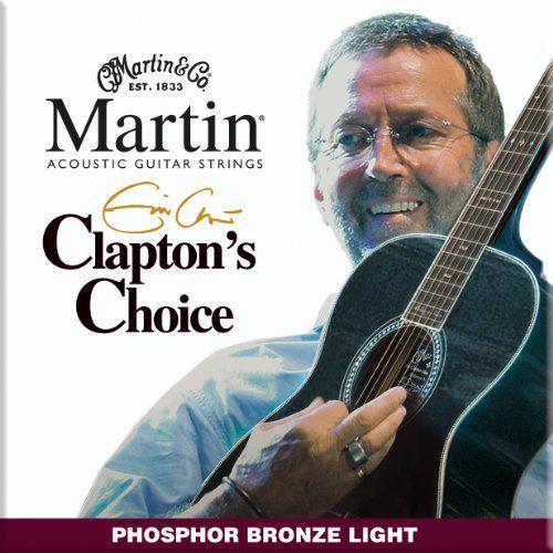 Martin Mec12 Claptons Choice Phosphor Bronze Acoustic Guitar Strings Light Click Image For More Details Acoustic Guitar Strings Martin Guitar Acoustic Guitar