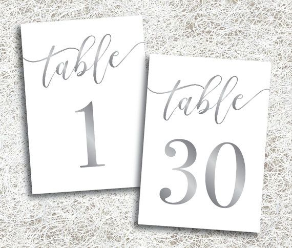 This is a picture of Free Printable Table Numbers 1 30 in tiffany table