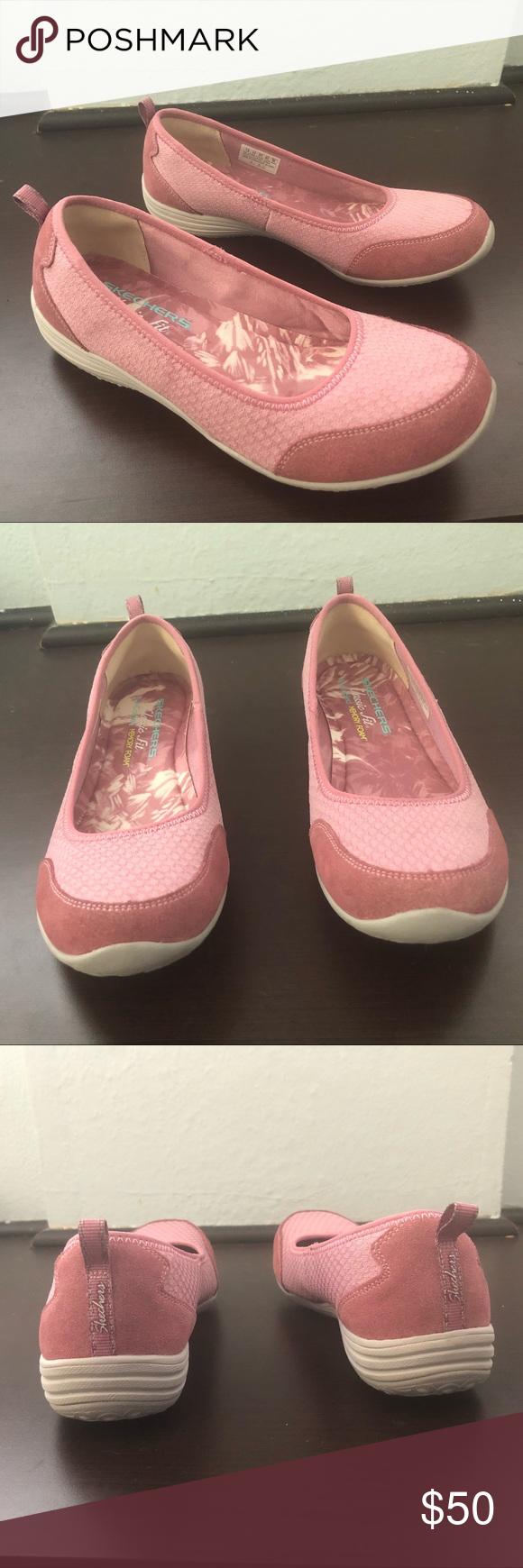 Reduced Women Skechers Classic Fit Memory Foam Sleek Fashion Skechers Skechers Shoes