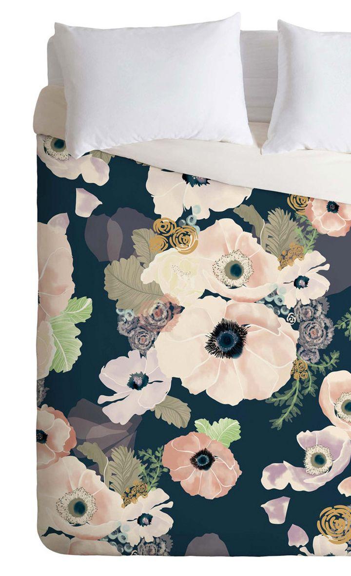 Brilliant Blooms Duvet Cover