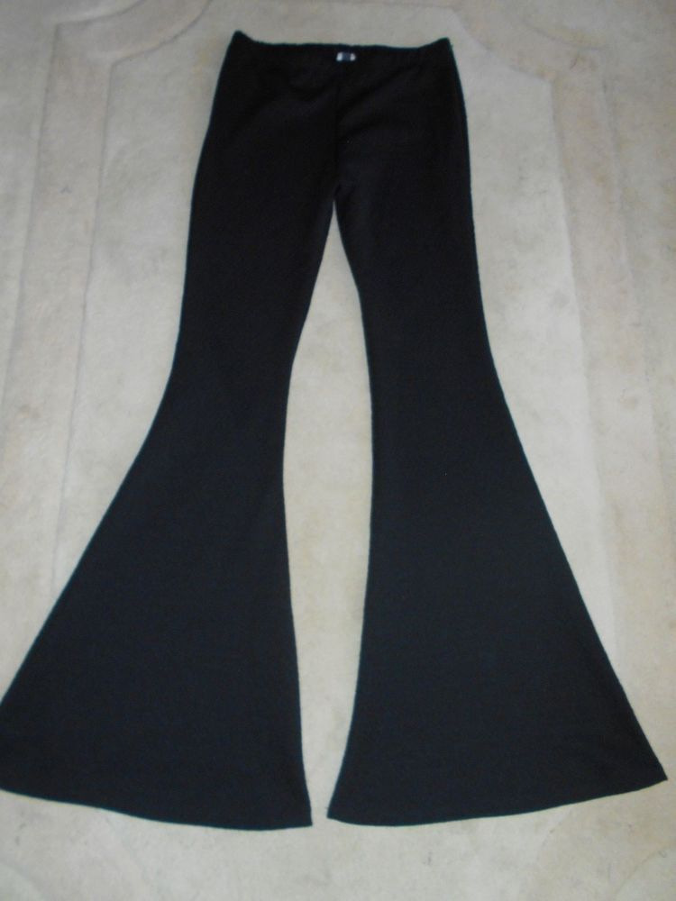 5c1307d80f Womens Nu Label Bell Bottom Leggings Pants NWOT medium #nulabel  #leggingsbellbotom
