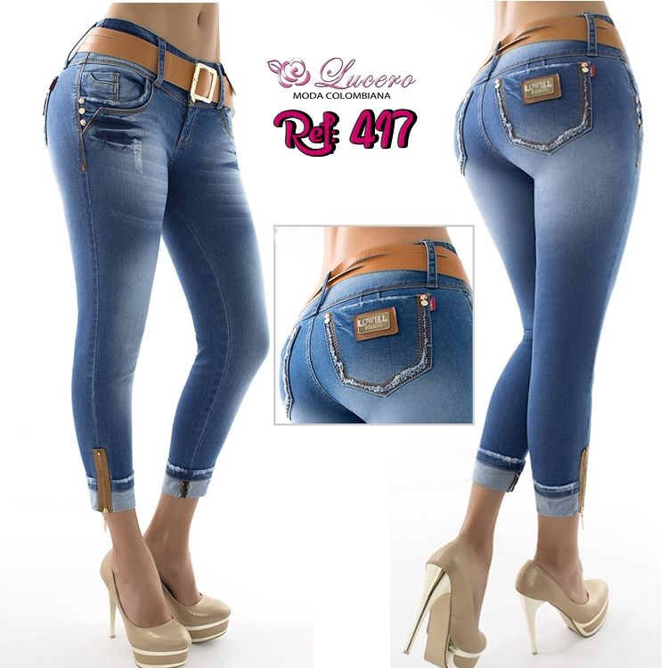 Pin En Jeans Colombianos Lujuria Wow Revel Nye Ene Lucero Moda Espana