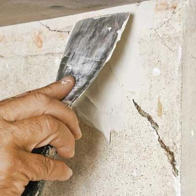 How To Fix A Big Hole In A Cement Wall Plaster Disaster Cement Walls Plaster Walls Concrete Block Walls
