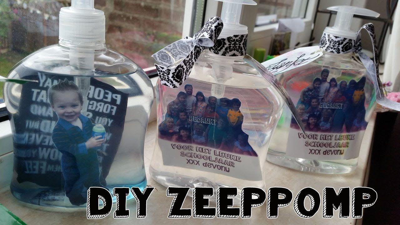 Verbazingwekkend Diy Foto Zeeppomp Maken Leuk ♥ Persoonlijk Kado♥ (met JB-81