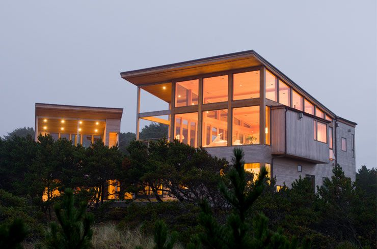 Oregon Coast Beach House By Boora