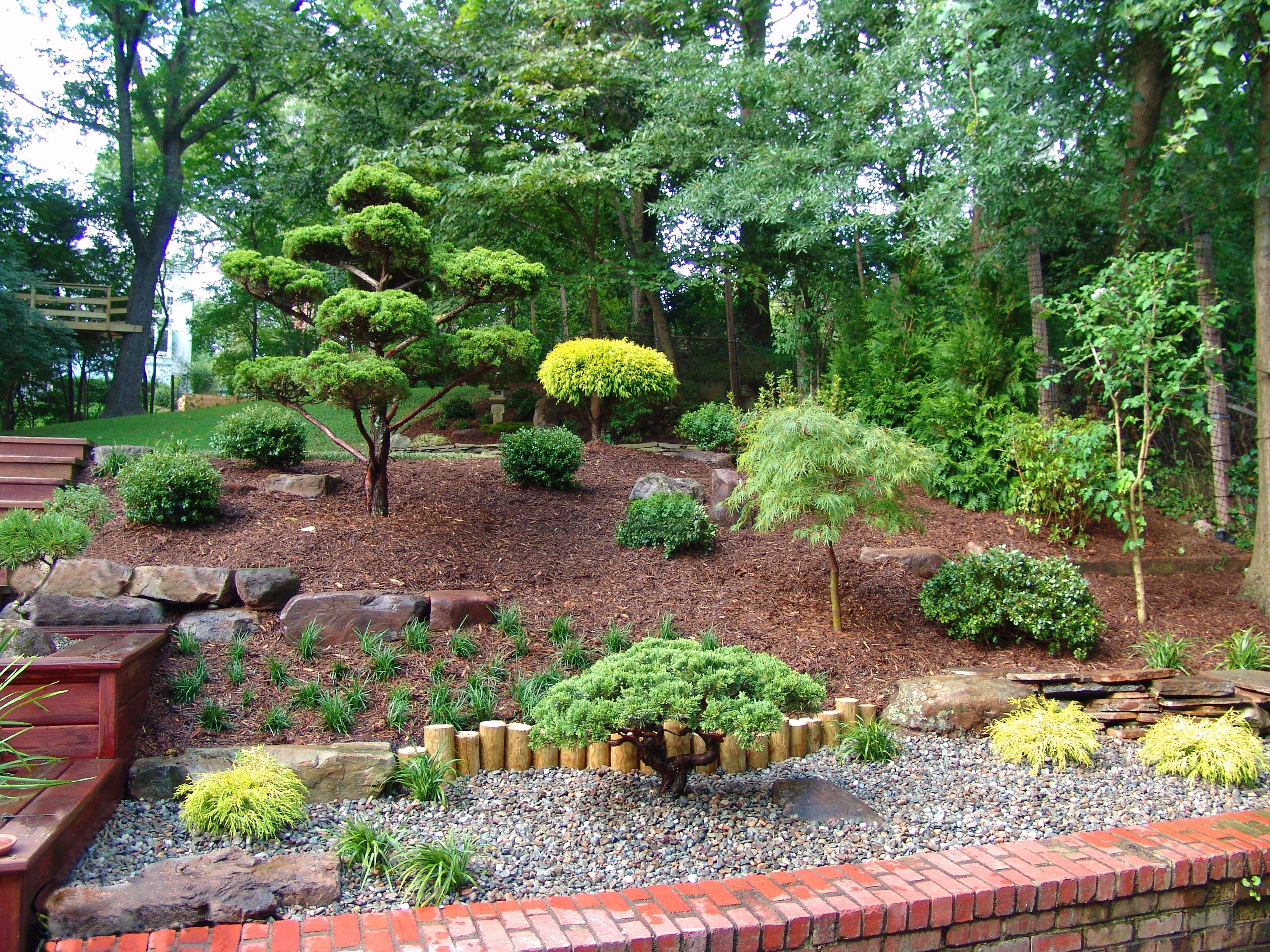 Japanese Garden Backyard Landscape Design By Lee S Oriental Landscape Art Asian Landscape Landscaping With Rocks Landscape Design