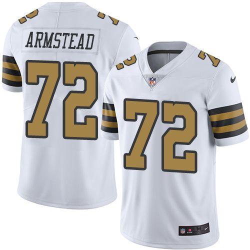 9cf19d8d479 Men s Nike New Orleans Saints  72 Terron Armstead Limited White Rush NFL  Jersey