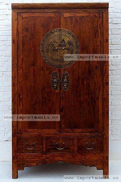 Armario chino de boda madera muebles orientales pinterest muebles chinos muebles - Armarios de boda chinos ...