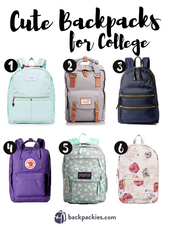 3ada4b440cef Cute backpacks for college and beyond. Check out our top picks at https