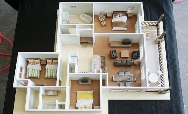 3 Bedroom Apartment House Plans Apartment Floor Plans Floor Plan Design 3d House Plans