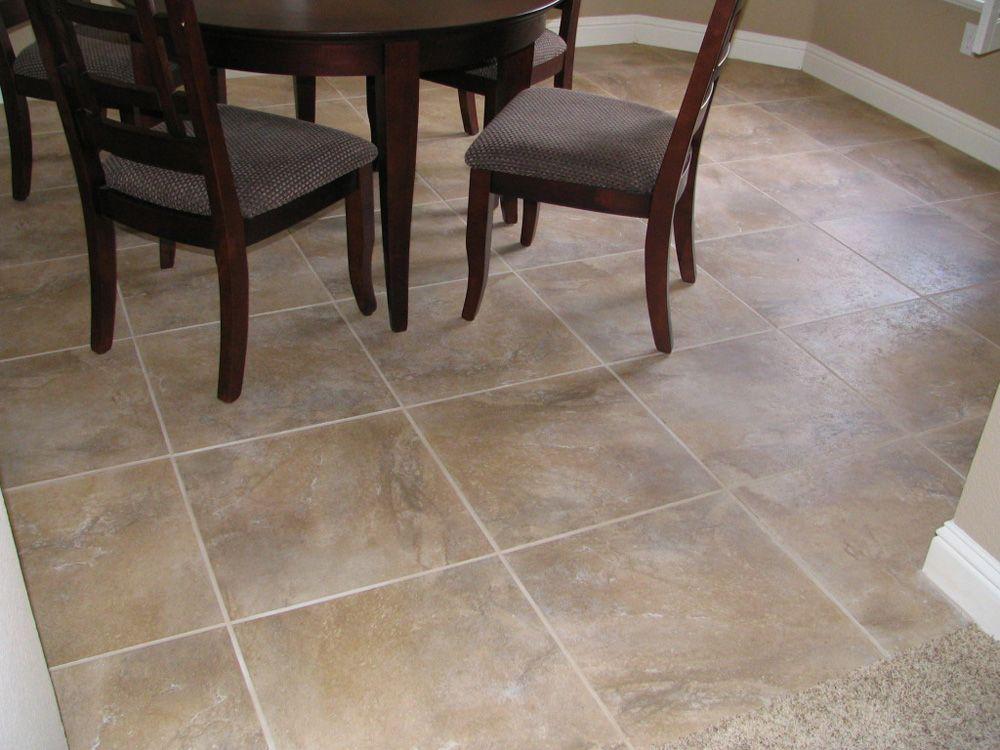 20 X 20 Inch Tile For Dining Room Floor Tiles Tile Installation