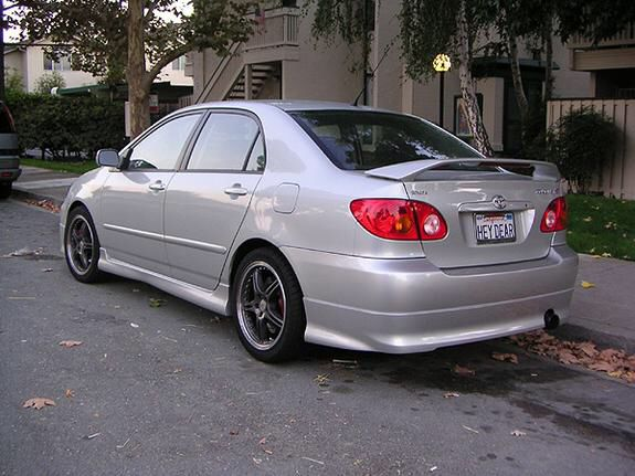 2004 Toyota Corolla S (or In Navy)