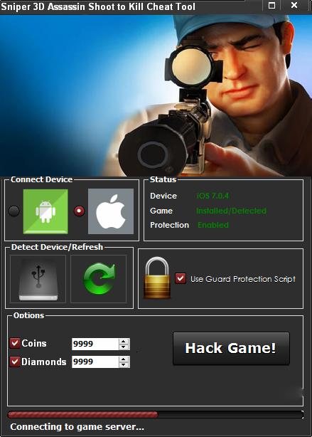 Sniper 3d Assassin Shoot To Kill Hack Cheats Teknologi