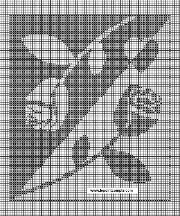 узор крестик картинка основе символа лежали