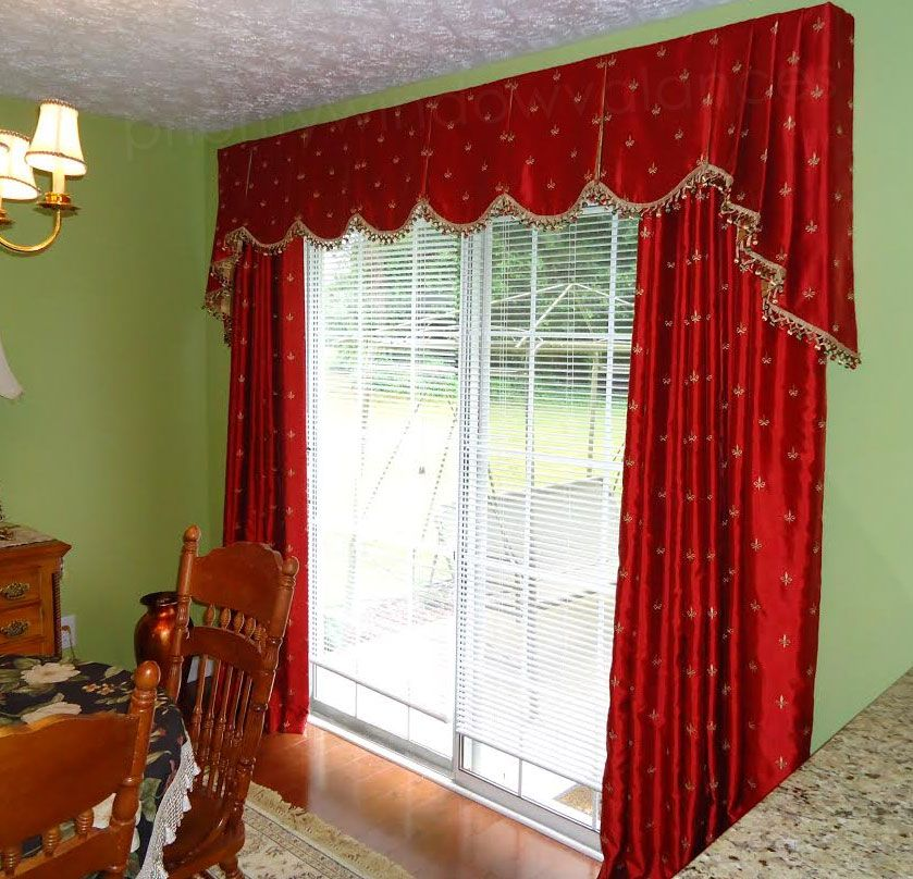 Valances Over Kitchen Sinks Custom Window Treatments Inspiration