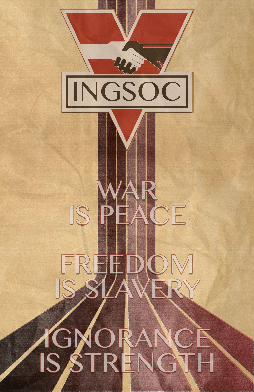 Oc 1984 1984 11x17 Book Cover Art George Orwell Literature
