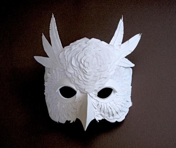 Beautiful Cut Paper Animal Masks By Flurry Salk