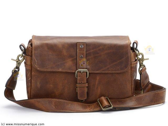 Mad over Shopping, Épaule en cuir véritable à la main Vintage randonnée caméra lentilles Duffle Bag
