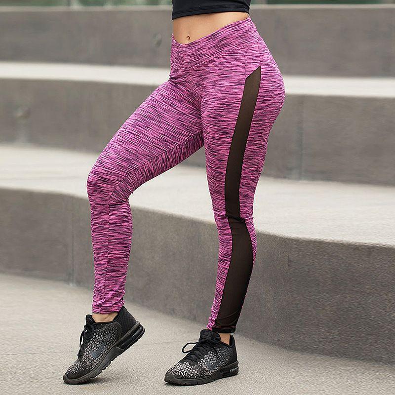 36bfa68755309 Fashionsonder - Shop best quality sports leggings mesh,yoga leggings with  side pockets,gym