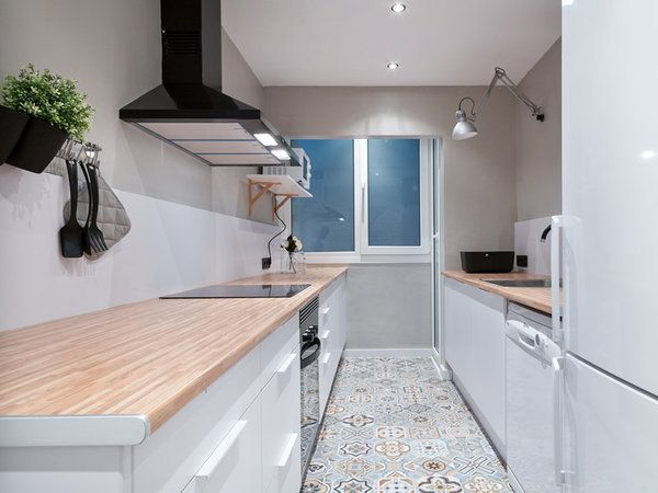 Un piso urbanita decorado con estilo nórdico | Decoración del hogar ...