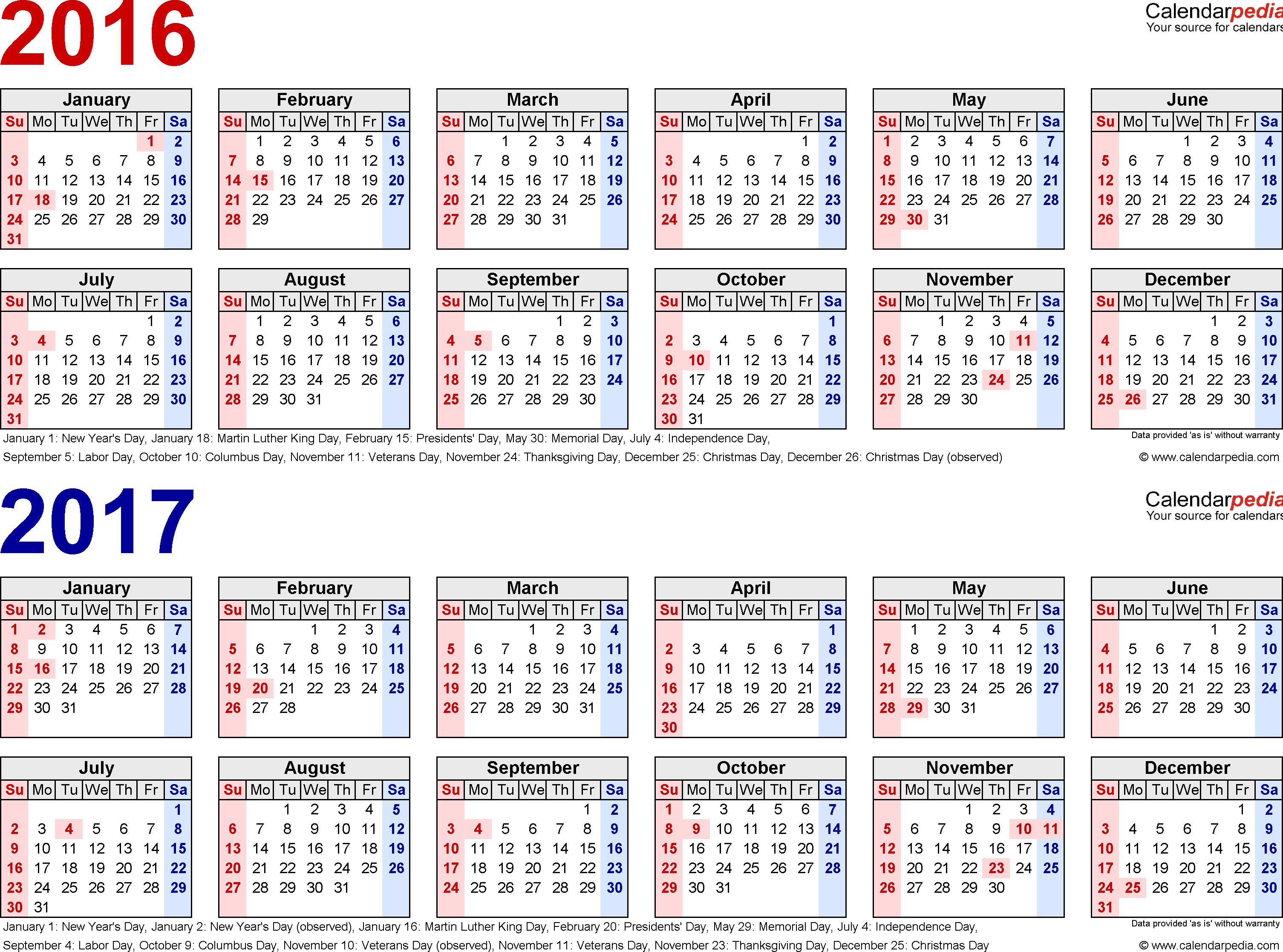tax diary template