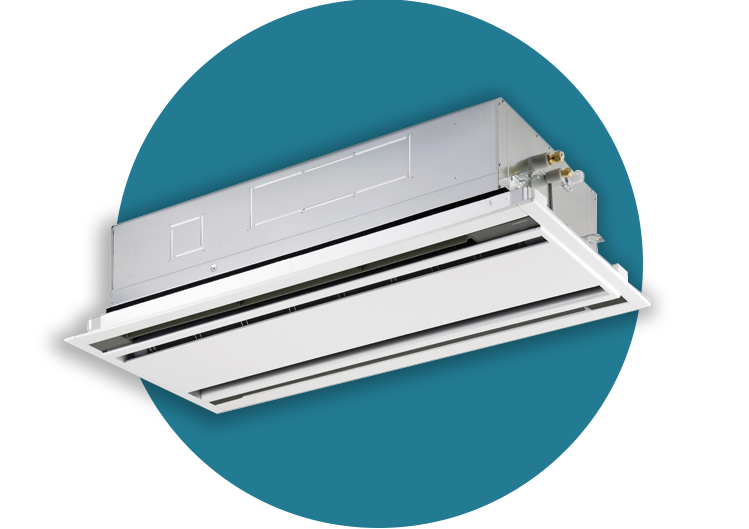 Ceiling Cassette Air Conditioner Systems (มีรูปภาพ)