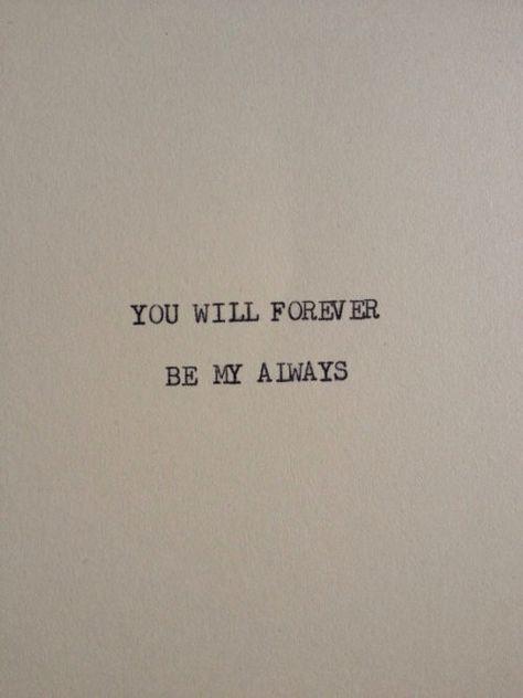 always, be, and forever afbeelding