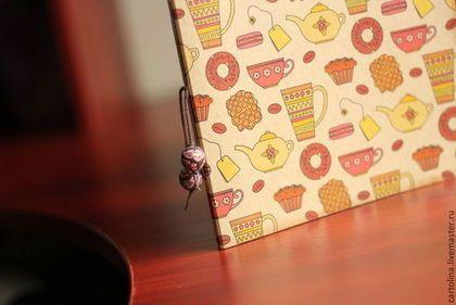 Блокноты ручной работы. Ярмарка Мастеров - ручная работа. Купить Чайный артбук + ручка в подарок. Handmade. Артбук