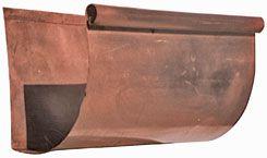 Quarter Round Gutter Profiles Pictured Shown In Copper Gutter Material Copper Gutters Gutter Gutter Profiles