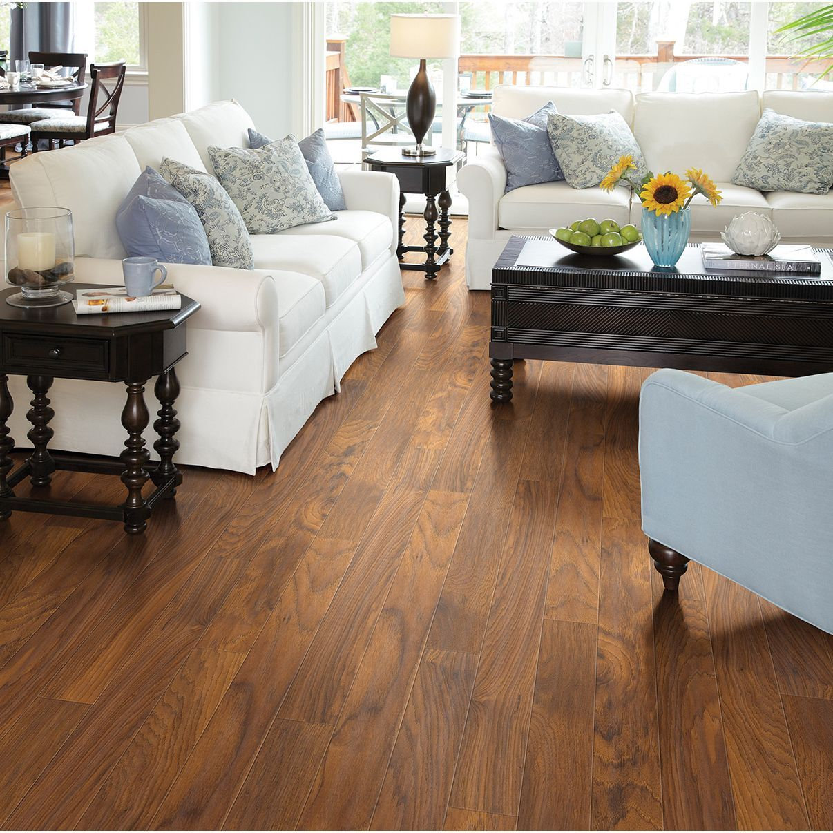Shaw Industries Heritage Hickory Flooring 00310 Brown