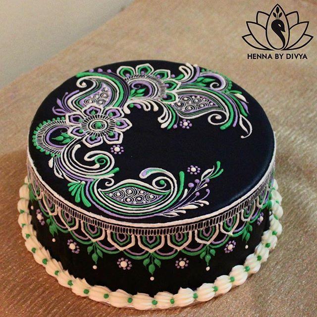 Mehndi Pattern Cake : Mandala henna cake stencils embosser ile ilgili g�rsel