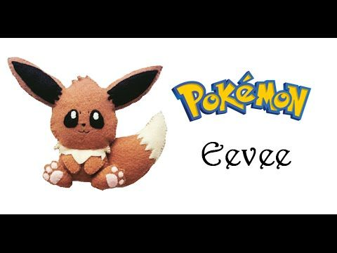Pokemon How To Make Eevee Felt Plushie Tutorial Felt