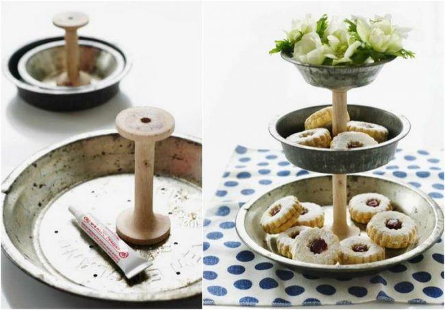 diy upcycling ideen vintage flair alte kuchenformen. Black Bedroom Furniture Sets. Home Design Ideas