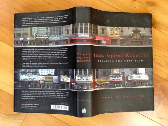 Times Square Roulette New York City History Coffee Table Book