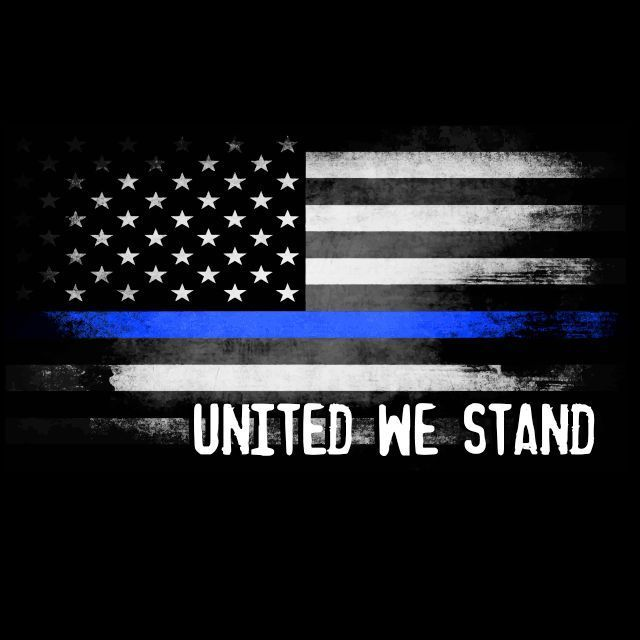Thin Blue Line Flag T-shirt Police Support Patriotic Blue Lives Matter T  SHIRT  LimpinLarrysTshirts  GraphicTee 59dd343409a