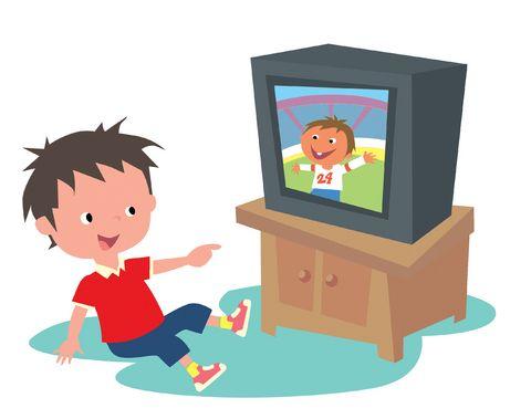 Me gusta mirar la television en mi casa.