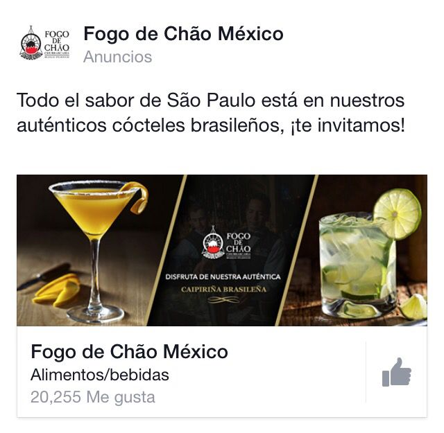 #Facebook #advertising #inspiration #drink #bar (With ...