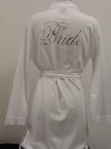 Personalised Bride Or Bridesmaids Dressing Gowns | Wedding ...