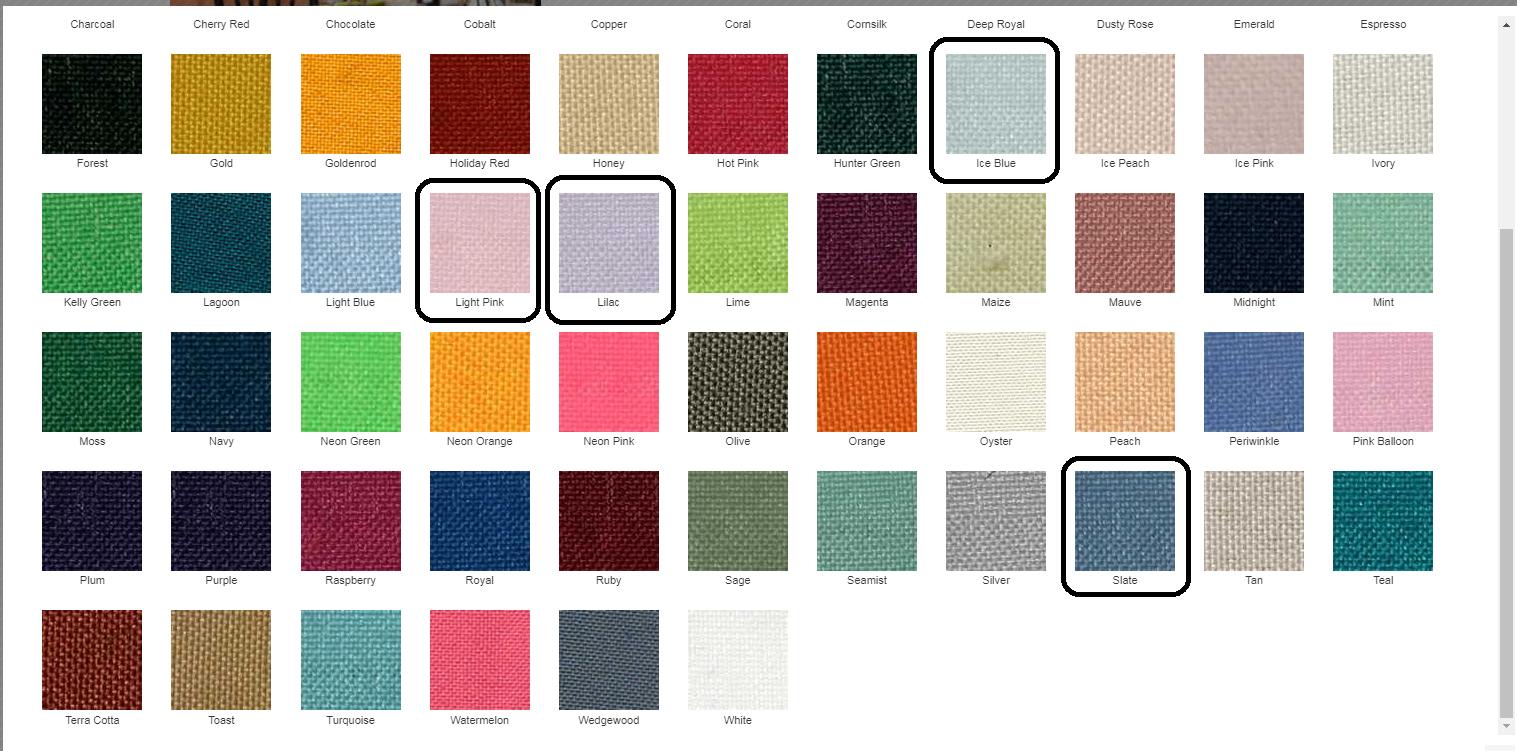 Http://www.tablelinensforless.com/basic Polyester Tablecloths.