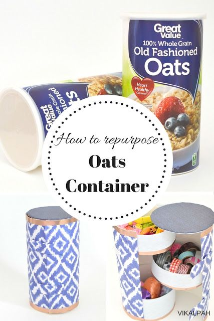 Vikalpah: How to repurpose oats container